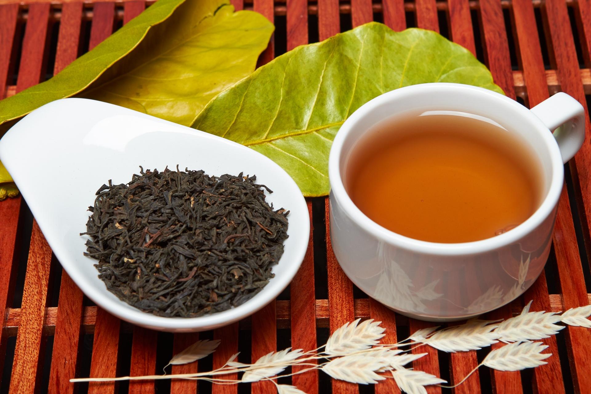 картинка чая черного байхового чая отличается ореховый светлый